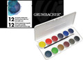 Grumbacher Transparent Watercolor 12pc Set