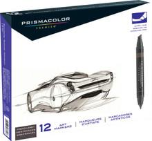 Prismacolor Marker French Grey 12pc Set
