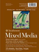 Strathmore 400 Series Mixed Media Pad 18x24