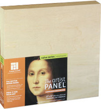 Ampersand Basswood Panel Cradled 8x8