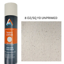 Heavy Cotton Canvas Roll 8oz. Unprimed