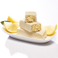 Zesty Lemon Crisp Protein Bars