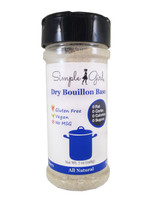 Simple Girl Dry Bouillon Base - All Natural - Sugar Free - No MSG