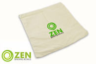 Zen Singing Bowls XL Natural Cotton Bag