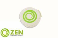 Zen Singing Bowls Small Natural Cotton and Buckwheat Cushion