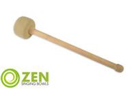 Zen Singing Bowls Large Premium Fleece Gonging/Striking Tool