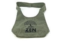 Zen Singing Bowls Green Shoulder Bag