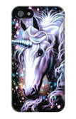 S0749 Unicorn Horse Case Cover For IPHONE 5 5s SE