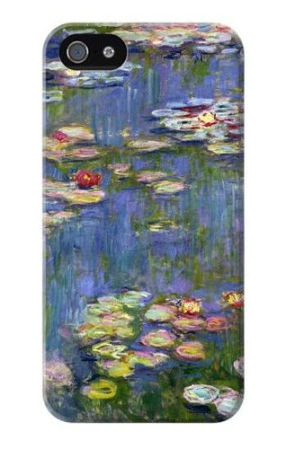 S0997 Claude Monet Water Lilies Case Cover For IPHONE 5 5s SE