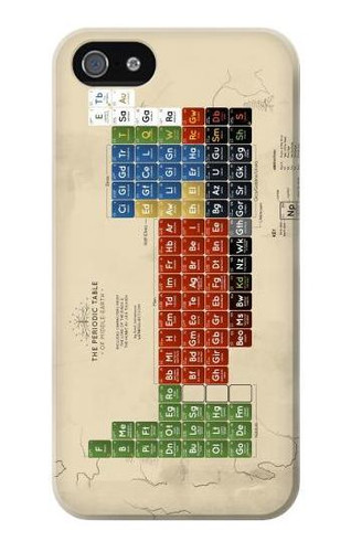 S1695 The Periodic Table of Middle Earth Case Cover For IPHONE 5 5s SE