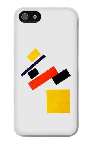 S1958 Malevich Suprematism Case Cover For IPHONE 5 5s SE