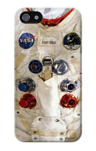 S2639 Neil Armstrong Astronaut Space Suit Case For IPHONE 5 5s SE