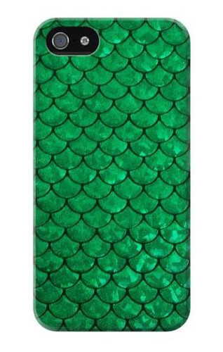 S2704 Green Fish Scale Pattern Graphic Case For IPHONE 5 5s SE