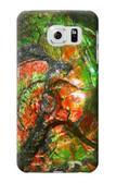 S2694 Ammonite Fossil Case For Samsung Galaxy S6 Edge