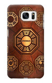 S0851 Dharma Case Cover For Samsung Galaxy S7