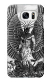 S1235 Aztec Warrior Case For Samsung Galaxy S7