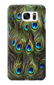 S1965 Peacock Feather Case For Samsung Galaxy S7