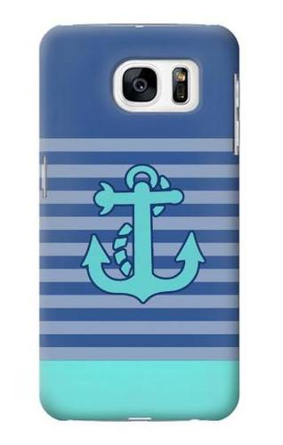 S2081 Nautical Anchor Case For Samsung Galaxy S7