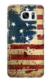 S2349 Old American Flag Case For Samsung Galaxy S7