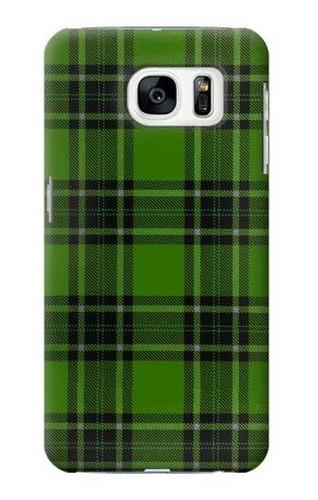 S2373 Tartan Green Pattern Case For Samsung Galaxy S7
