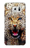 S1932 Blue Eyed Leopard Case For Samsung Galaxy S7 Edge