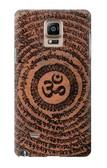 S2874 Om Symbol Tattoo Case For Samsung Galaxy Note 4