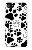 S2904 Dog Paw Prints Case For IPHONE 5 5s SE