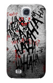 S3073 Hahaha Blood Splash Case For Samsung Galaxy S4