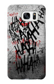 S3073 Hahaha Blood Splash Case For Samsung Galaxy S7