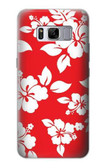 S1949 Hawaiian Hibiscus Pattern Case For Samsung Galaxy S8 Plus