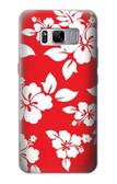 S1949 Hawaiian Hibiscus Pattern Case For Samsung Galaxy S8 Plus