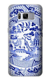S2768 Willow Pattern Graphic Case For Samsung Galaxy S8 Plus