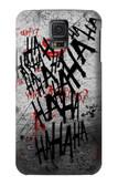 S3073 Hahaha Blood Splash Case For Samsung Galaxy S5 mini