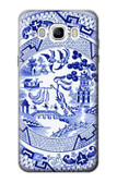 S2768 Willow Pattern Graphic Case For Samsung Galaxy J7 (2016)