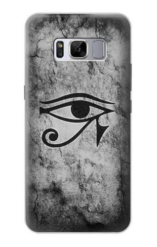 S3108 Ancient Egyptian Sun Eye Of Horus Case For Samsung Galaxy S8 Plus