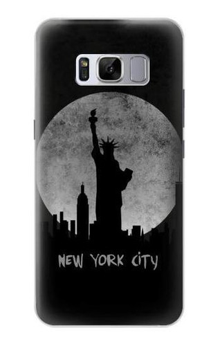 S3097 New York City Case For Samsung Galaxy S8