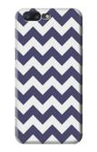 S2345 Navy Blue Shavron Zig Zag Pattern Case For OnePlus 5
