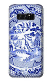 S2768 Willow Pattern Graphic Case For Note 8 Samsung Galaxy Note8