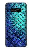 S3047 Green Mermaid Fish Scale Case For Note 8 Samsung Galaxy Note8