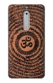 S2874 Om Symbol Tattoo Case For Nokia 5