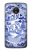 S2768 Willow Pattern Graphic Case For Motorola Moto E4 Plus