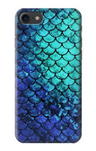 S3047 Green Mermaid Fish Scale Case For iPhone 8