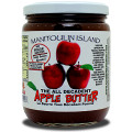 The goodness of apples and cinnamon in this yummy no sugar added spread type jam. Nothing added just sweet apples! Same great taste as the 250ml...but in a bigger jar!