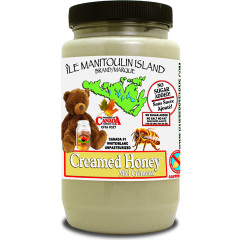 Creamed honey. Nothing but goodness here!
