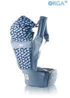 Orga Plus Baby Carrier & Hipseat Carrier ~ Color: Blueberry
