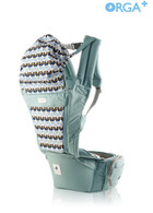 Orga Plus All in one Carrier (Baby Carrier & Hipseat Carrier) ~ Color: Cabbage