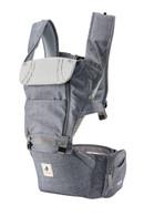 NEO NO.5 ~ Pognae Upgraded Waterproof Hipseat Carrier - Denim Grey