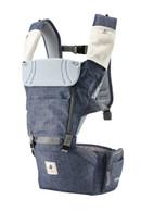 NEO NO.5 ~ Pognae Upgraded Waterproof Hipseat Carrier - Denim Blue