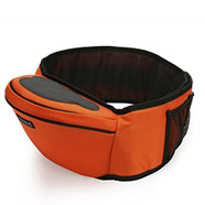 Baby Hipseat + Wrapper - Orange