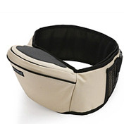 Baby Hipseat + Wrapper - Beige